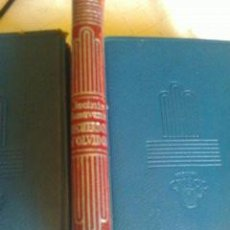 Livres d'occasion: RECUERDOS Y OLVIDOS JACINTO BENAVENTE CRISOL 400 AÑO 1959. Lote 210397081