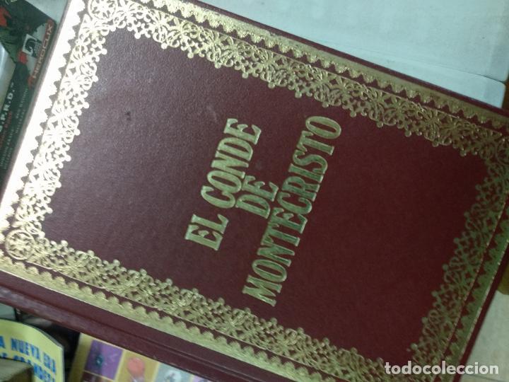 Libros de segunda mano: El conde de Montecristo. Alejandro Dumas. Ediciones Nauta, Barcelona, 1970, 3 tomos - Foto 2 - 210420451