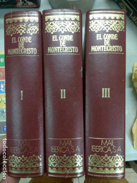 EL CONDE DE MONTECRISTO. ALEJANDRO DUMAS. EDICIONES NAUTA, BARCELONA, 1970, 3 TOMOS (Libros de Segunda Mano (posteriores a 1936) - Literatura - Narrativa - Clásicos)