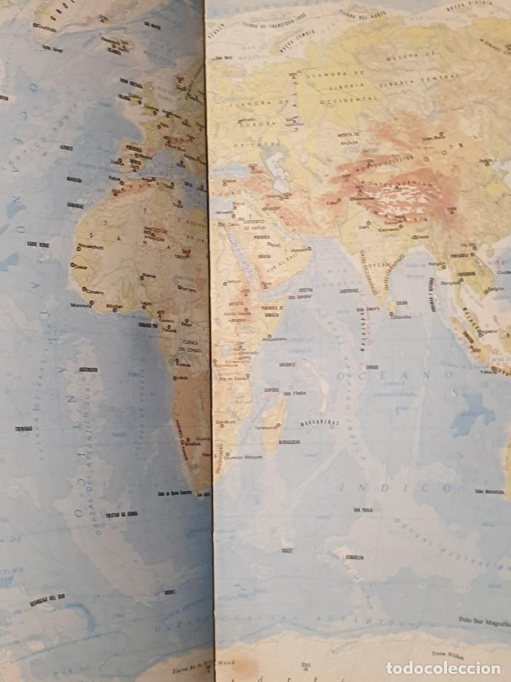 Libros de segunda mano: ATLAS GEOGRÁFICO EDITORIAL CANTABRICA - Foto 5 - 210425421