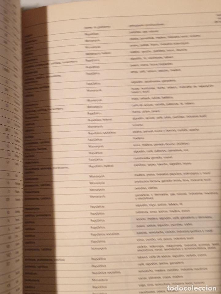 Libros de segunda mano: ATLAS GEOGRÁFICO EDITORIAL CANTABRICA - Foto 8 - 210425421