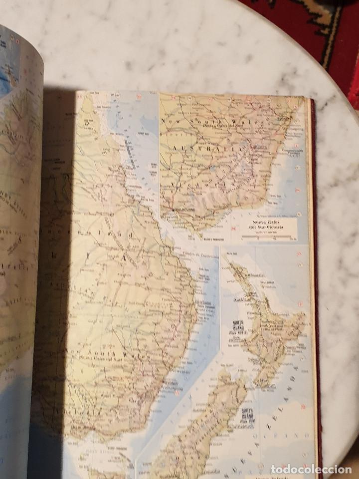 Libros de segunda mano: ATLAS GEOGRÁFICO EDITORIAL CANTABRICA - Foto 9 - 210425421