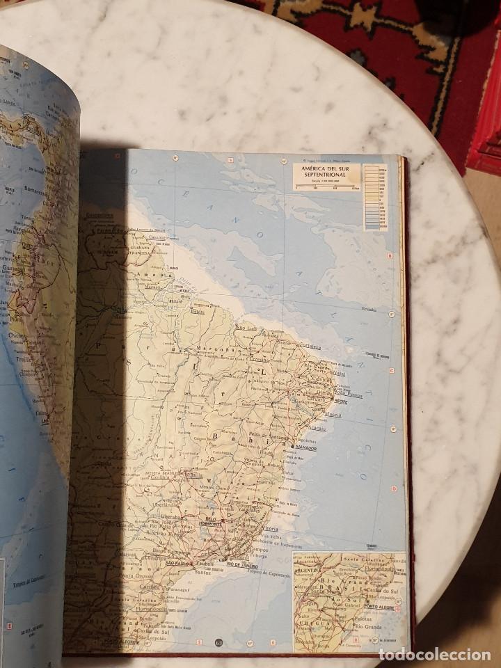 Libros de segunda mano: ATLAS GEOGRÁFICO EDITORIAL CANTABRICA - Foto 10 - 210425421