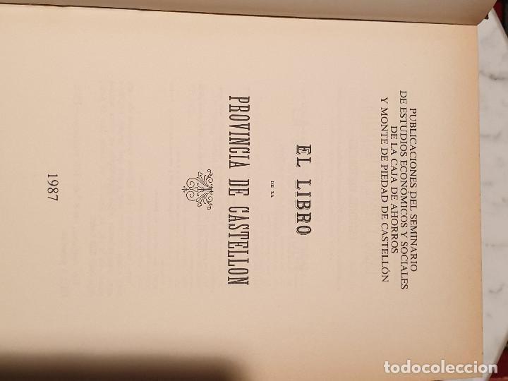 Libros de segunda mano: EL LIBRO DE LA PROVINCIA DE CASTELLON JUAN A. BALBAS - Foto 2 - 210425640