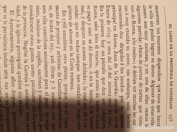 Libros de segunda mano: EL LIBRO DE LA PROVINCIA DE CASTELLON JUAN A. BALBAS - Foto 4 - 210425640
