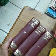 Libros de segunda mano: EL CONDE DE MONTECRISTO, ALEJANDRO DUMAS. (TRES TOMOS). L.8760-828. Lote 210638495