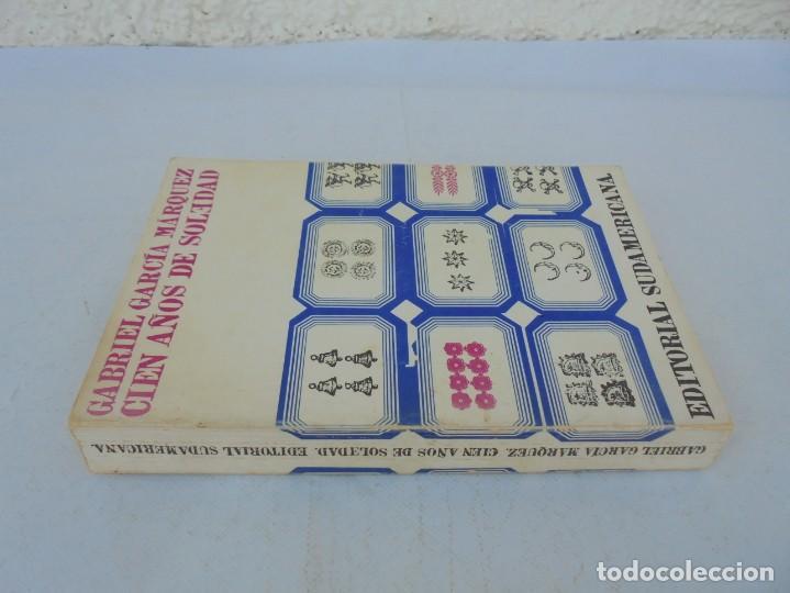 Libros de segunda mano: GABRIEL GARCIA MARQUEZ. CIEN AÑOS DE SOLEDAD. EDITORIAL SUDAMERICANA.1968 - Foto 2 - 210746351