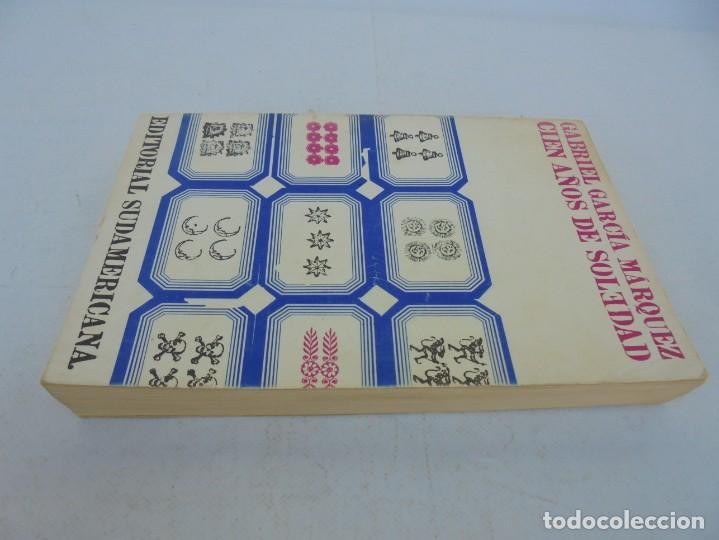 Libros de segunda mano: GABRIEL GARCIA MARQUEZ. CIEN AÑOS DE SOLEDAD. EDITORIAL SUDAMERICANA.1968 - Foto 4 - 210746351