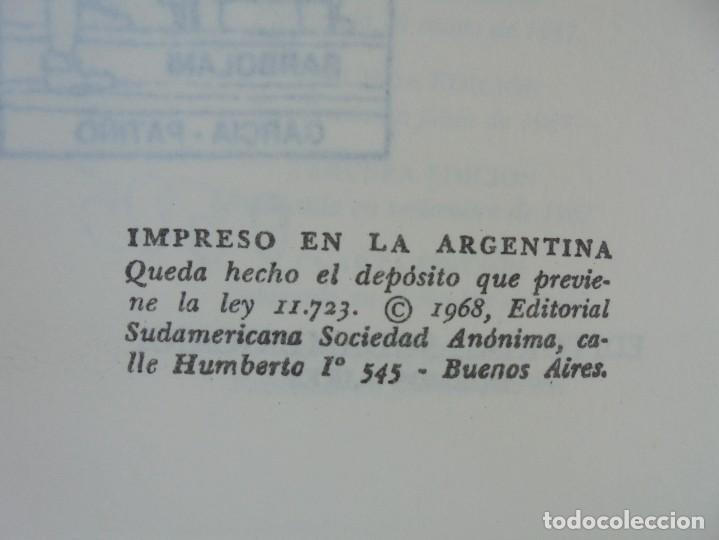 Libros de segunda mano: GABRIEL GARCIA MARQUEZ. CIEN AÑOS DE SOLEDAD. EDITORIAL SUDAMERICANA.1968 - Foto 8 - 210746351