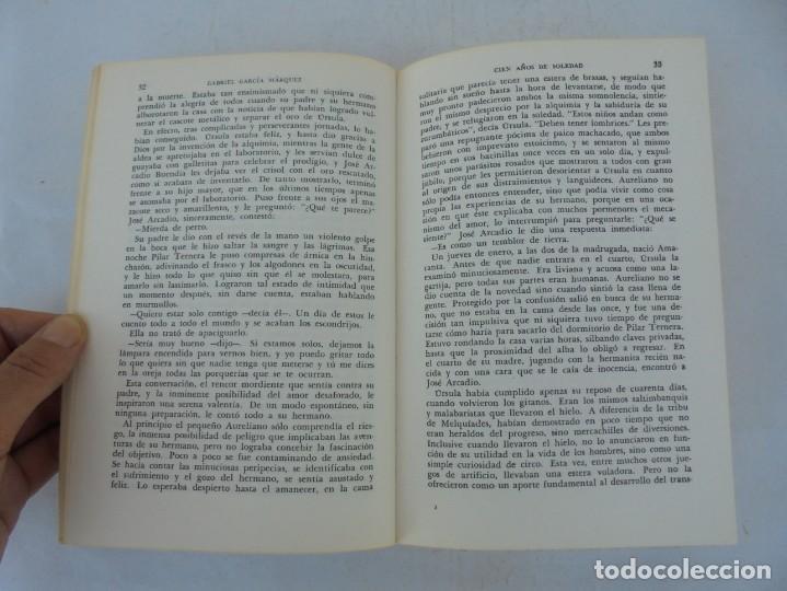 Libros de segunda mano: GABRIEL GARCIA MARQUEZ. CIEN AÑOS DE SOLEDAD. EDITORIAL SUDAMERICANA.1968 - Foto 9 - 210746351