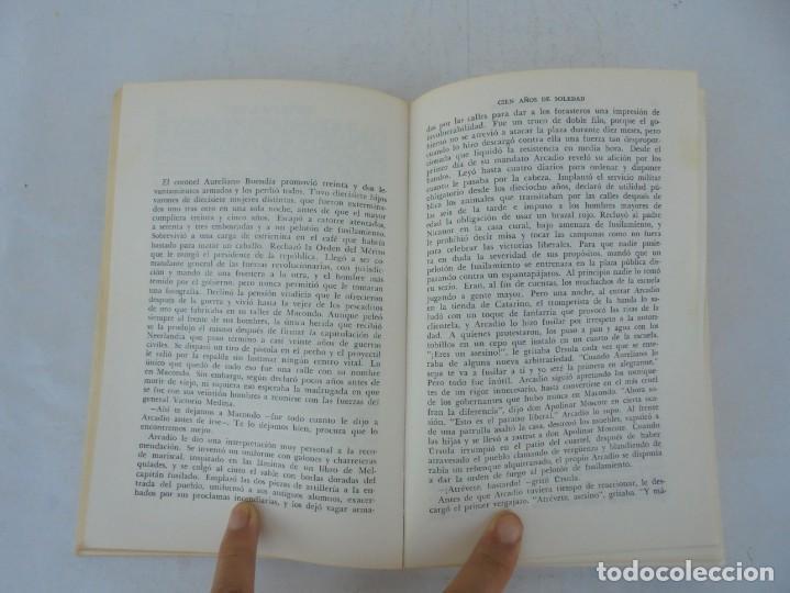 Libros de segunda mano: GABRIEL GARCIA MARQUEZ. CIEN AÑOS DE SOLEDAD. EDITORIAL SUDAMERICANA.1968 - Foto 10 - 210746351