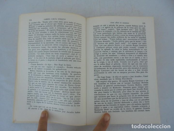 Libros de segunda mano: GABRIEL GARCIA MARQUEZ. CIEN AÑOS DE SOLEDAD. EDITORIAL SUDAMERICANA.1968 - Foto 11 - 210746351