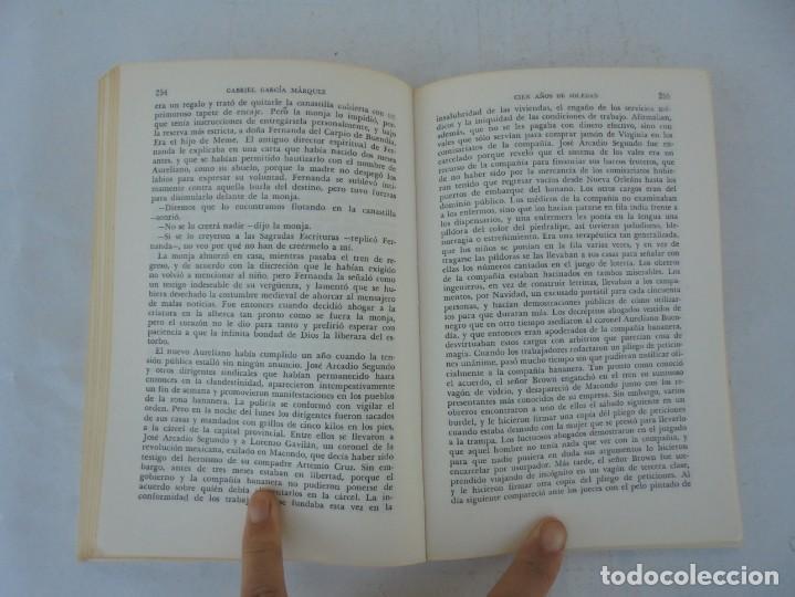 Libros de segunda mano: GABRIEL GARCIA MARQUEZ. CIEN AÑOS DE SOLEDAD. EDITORIAL SUDAMERICANA.1968 - Foto 13 - 210746351