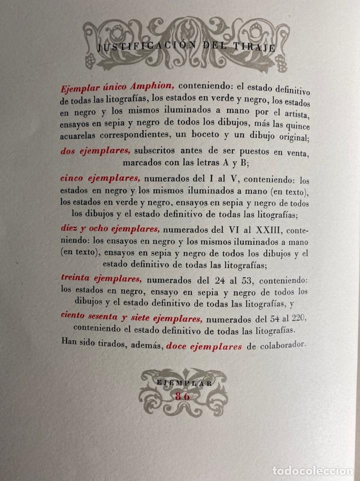 Libros de segunda mano: L-1895. LAS ÉGOLGAS, GARCILASO DE LA VEGA.1945. EJEMPLAR NUEMRADO. AMPHION, BARCELONA. - Foto 4 - 210749436