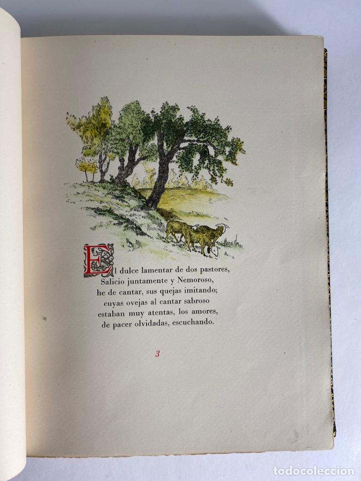 Libros de segunda mano: L-1895. LAS ÉGOLGAS, GARCILASO DE LA VEGA.1945. EJEMPLAR NUEMRADO. AMPHION, BARCELONA. - Foto 11 - 210749436