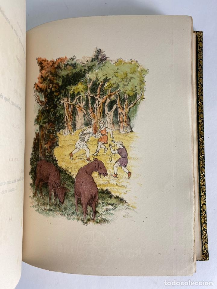Libros de segunda mano: L-1895. LAS ÉGOLGAS, GARCILASO DE LA VEGA.1945. EJEMPLAR NUEMRADO. AMPHION, BARCELONA. - Foto 14 - 210749436