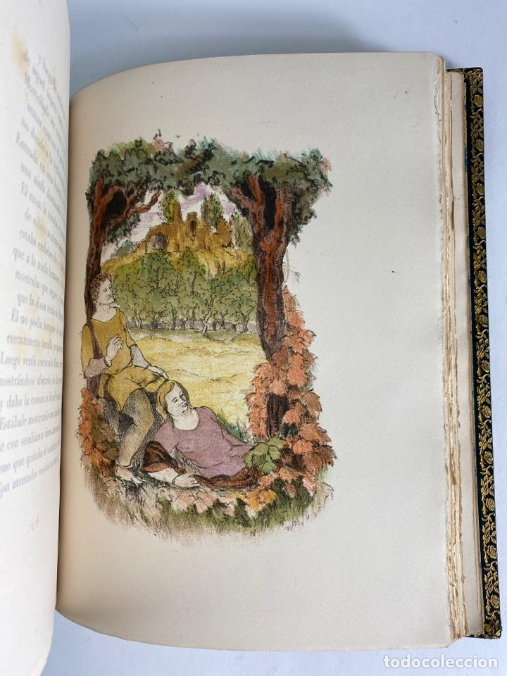 Libros de segunda mano: L-1895. LAS ÉGOLGAS, GARCILASO DE LA VEGA.1945. EJEMPLAR NUEMRADO. AMPHION, BARCELONA. - Foto 15 - 210749436