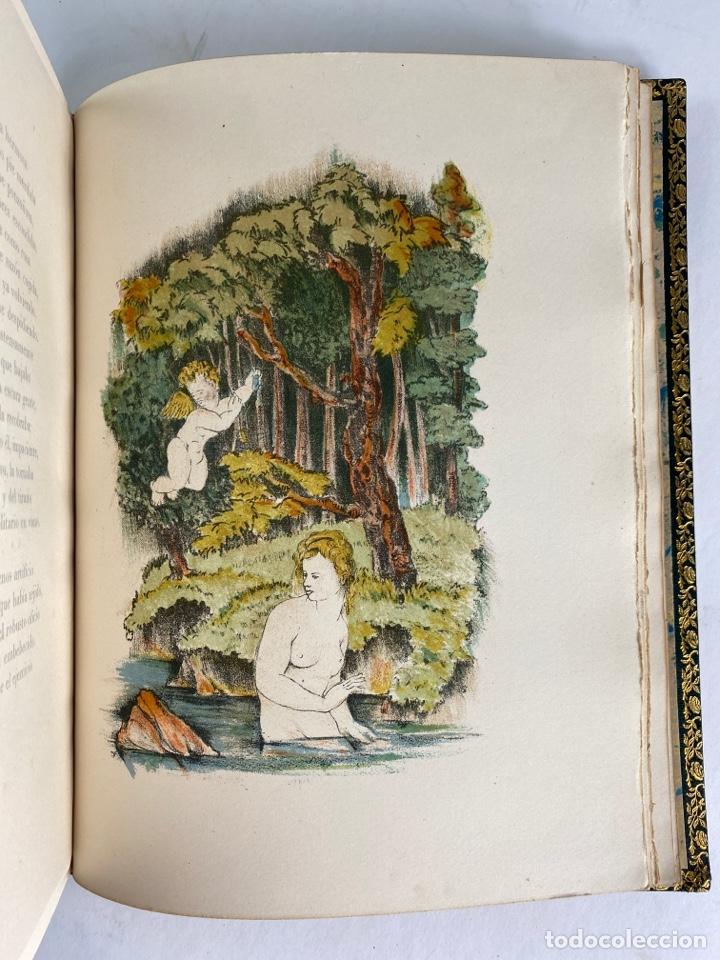 Libros de segunda mano: L-1895. LAS ÉGOLGAS, GARCILASO DE LA VEGA.1945. EJEMPLAR NUEMRADO. AMPHION, BARCELONA. - Foto 16 - 210749436