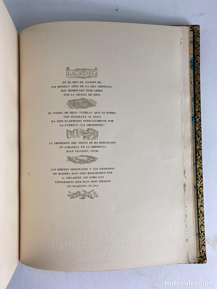Libros de segunda mano: L-1895. LAS ÉGOLGAS, GARCILASO DE LA VEGA.1945. EJEMPLAR NUEMRADO. AMPHION, BARCELONA. - Foto 19 - 210749436