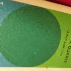 Libros de segunda mano: LA FAMILIA DE PASCUAL DUARTE DE D. CAMILO JOSÉ CELAS. Lote 210758122