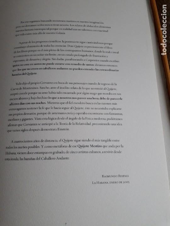 Libros de segunda mano: EL QUIJOTE MESTIZO - Foto 7 - 210785706