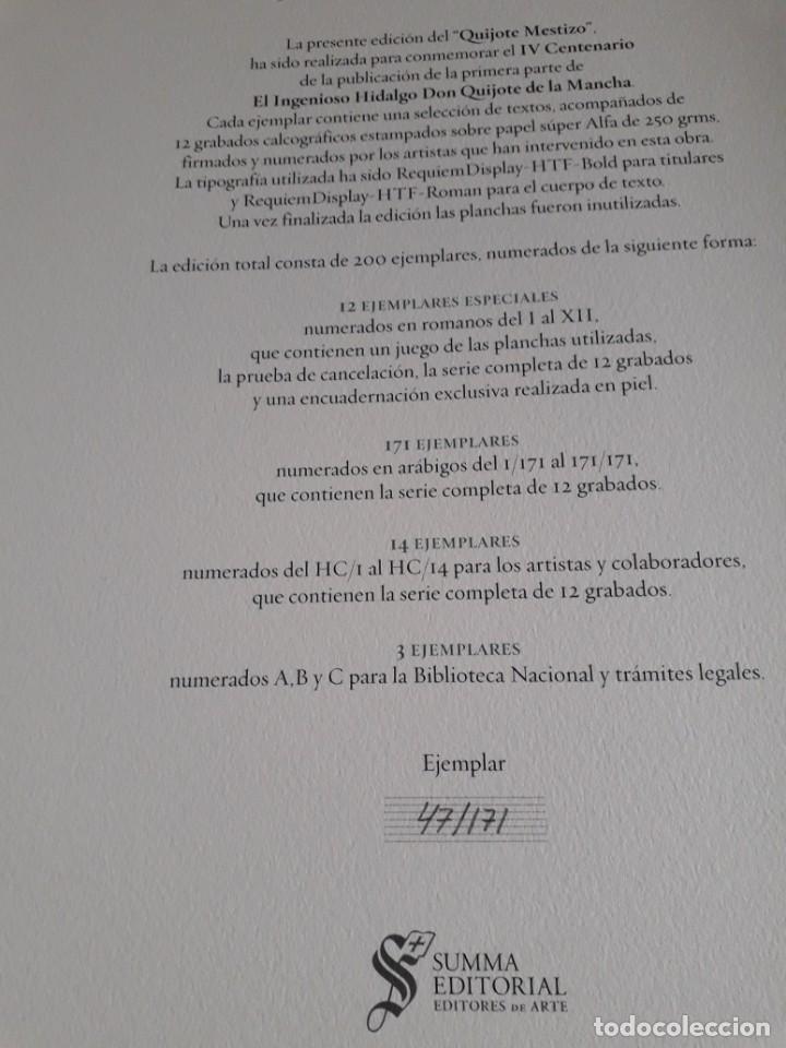Libros de segunda mano: EL QUIJOTE MESTIZO - Foto 17 - 210785706