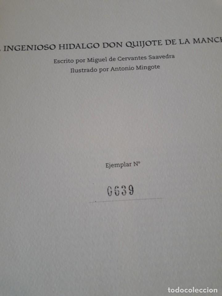 Libros de segunda mano: Quijote ilustrado por Mingote - Foto 6 - 210818665