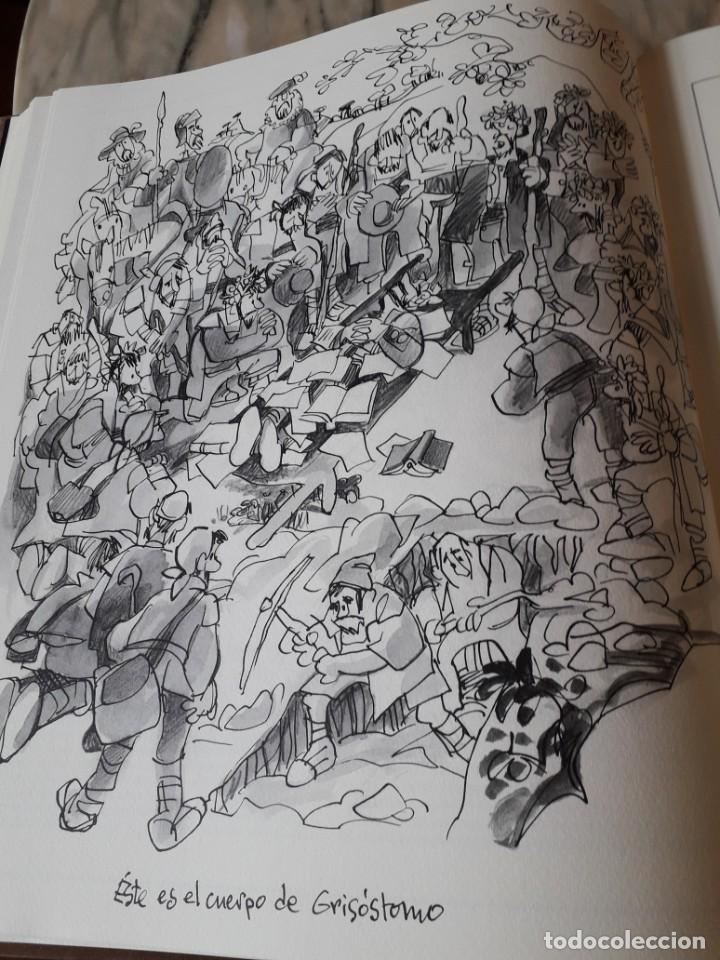 Libros de segunda mano: Quijote ilustrado por Mingote - Foto 7 - 210818665
