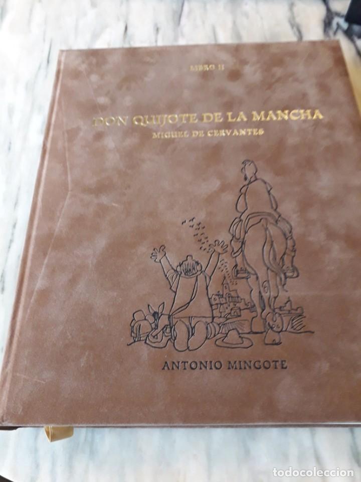 Libros de segunda mano: Quijote ilustrado por Mingote - Foto 12 - 210818665