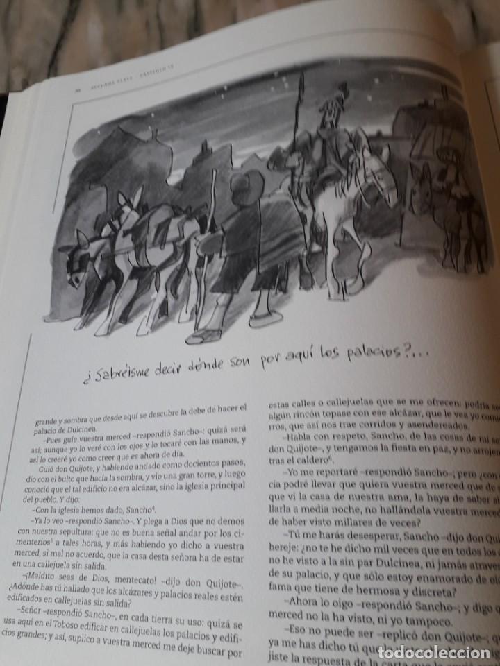 Libros de segunda mano: Quijote ilustrado por Mingote - Foto 13 - 210818665