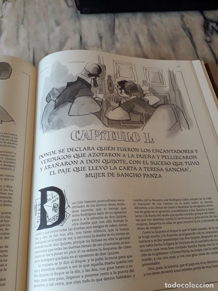 Libros de segunda mano: Quijote ilustrado por Mingote - Foto 15 - 210818665