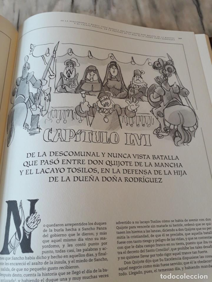 Libros de segunda mano: Quijote ilustrado por Mingote - Foto 16 - 210818665