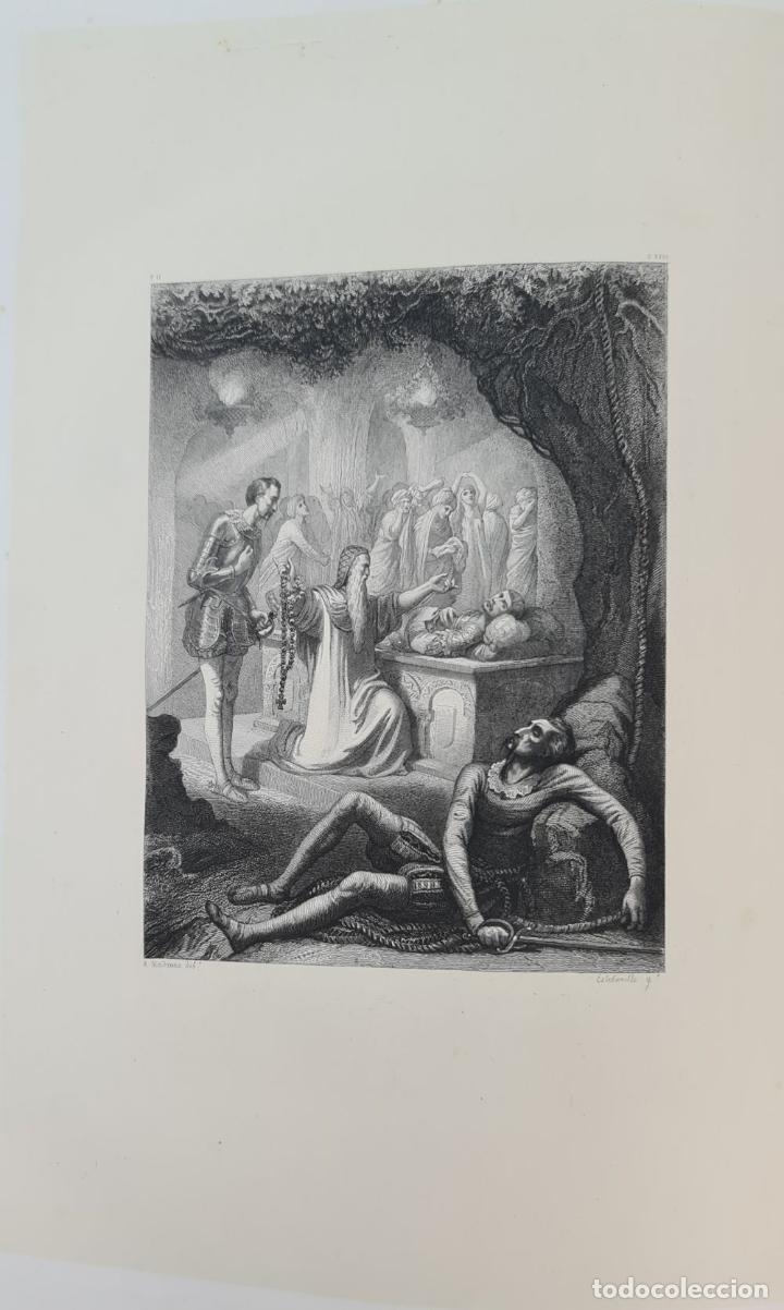 Libros de segunda mano: EL INGENIOSO HIDALGO DON QUIJOTE DE LA MANCHA. CERVANTES. IMP TOMAS SORCH. 1865. - Foto 9 - 211273695