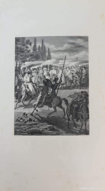 Libros de segunda mano: EL INGENIOSO HIDALGO DON QUIJOTE DE LA MANCHA. CERVANTES. IMP TOMAS SORCH. 1865. - Foto 10 - 211273695