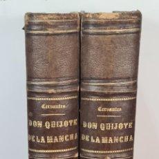 Libros de segunda mano: EL INGENIOSO HIDALGO DON QUIJOTE DE LA MANCHA. CERVANTES. IMP TOMAS SORCH. 1865.. Lote 211273695