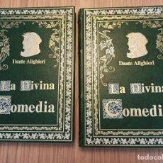 Libros de segunda mano: LA DIVINA COMEDIA - ED. LIMITADA. DANTE ALIGHIERI.. Lote 211579752