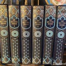 Libros de segunda mano: LAS MIL Y UNA NOCHES - 6 TOMOS - CLUB INTERNACIONAL DEL LIBRO 1988. Lote 211607319