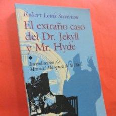 Libros de segunda mano: EL EXTRAÑO CASO DEL DR. JEKYLL Y MR. HYDE. STEVENSON, ROBERT LOUIS. ED. EDAF JUVENIL. MADRID 2001.. Lote 211647805