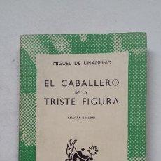 Libros de segunda mano: EL CABALLERO DE LA TRISTE FIGURA. - MIGUEL DE UNAMUNO. COLECCIÓN AUSTRAL Nº 417. ESPASA CALPE TDK413. Lote 211649000
