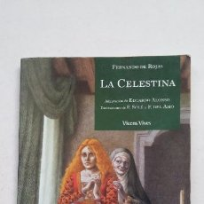 Libros de segunda mano: LA CELESTINA. FERNANDO DE ROJAS. CLASICOS ADAPTADOS Nº 13. VICENS VIVES. EDUARDO ALONSO ADAPT TDK384. Lote 211678436