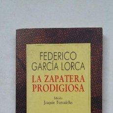 Libros de segunda mano: LA ZAPATERA PRODIGIOSA. - FEDERICO GARCÍA LORCA - COLECCION AUSTRAL Nº 126. ESPASA CALPE. TDK388. Lote 211694358