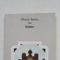 Libros de segunda mano: RELATOS - HENRY JAMES. AULA BIBLIOTECA DEL ESTUDIANTE. TDK361. Lote 211706360