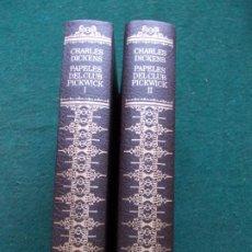 Libros de segunda mano: GRANDES CLASICOS UNIVERSALES CIRCULO DE LECTORES CHARLES DICKENS PAPELES DEL CLUB PICKWICK. Lote 212121916