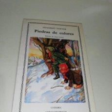 Livres d'occasion: ADALBER STIFTER - PIEDRAS DE COLORES. Lote 212133253