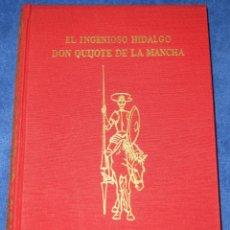 Libros de segunda mano: EL INGENIOSO HIDALGO DON QUIJOTE DE LA MANCHA - J. PÉREZ DEL HOYO EDITOR (1963). Lote 212899146