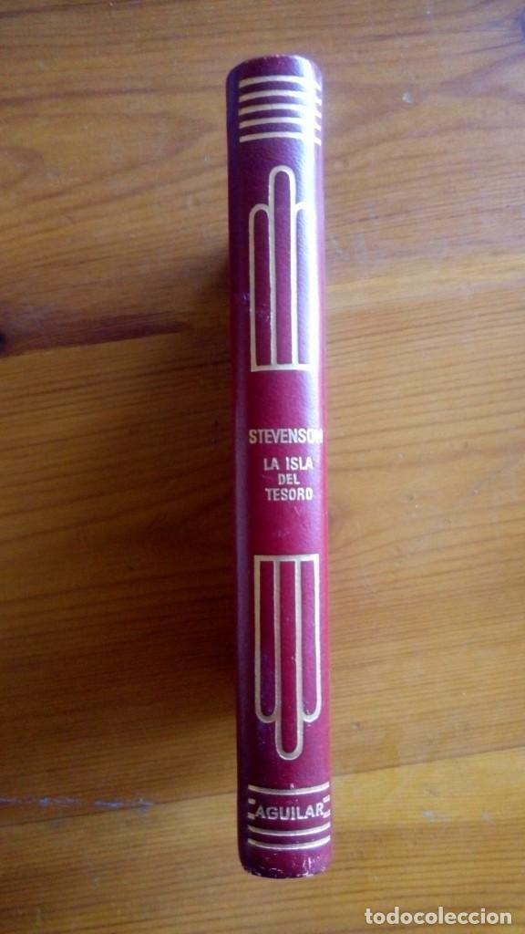 """""""LA ISLA DEL TESORO"""", STEVENSON. EDIT.: AGUILAR. (Libros de Segunda Mano (posteriores a 1936) - Literatura - Narrativa - Clásicos)"""