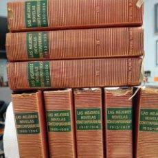 Libros de segunda mano: LAS MEJORES NOVELAS CONTEMPORANEAS. EDITORIAL PLANETA. 8 TOMOS (DEL II AL IX). PIEL. CINTA MARCAPAGI. Lote 213455368