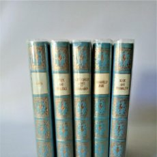 Libros de segunda mano: JANE AUSTEN 5 VOLUMENES COLECCIÓN COMPLETA HERON BOOKS (1968). Lote 213657080