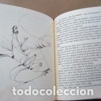 Libros de segunda mano: El Quijote, 2 tomos, edición conmemorativa de lujo en miniatura, Il. Ciro Oduber - Foto 6 - 213697692