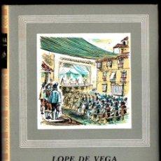 Libros de segunda mano: LOPE DE VEGA : COMEDIAS II (IBERIA, 1965). Lote 213713363